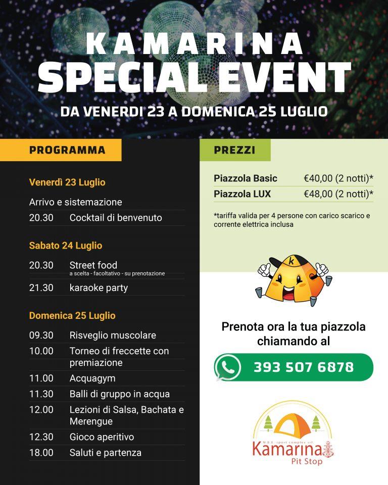Kamarina Special Event